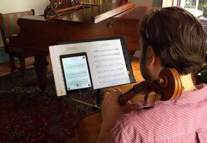 Cello Practice with PlayScore 2