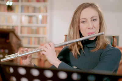 Flute Practice with PlayScore 2