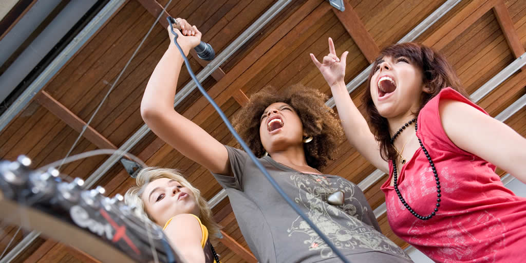 Singing In A Girl Band