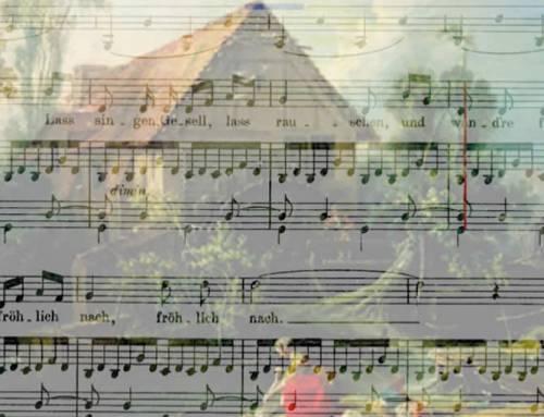 Danksagung an den Bach. Tenor Charles Kim. Playscore2