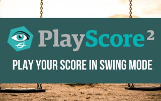 PlayScore Sheet Music Player Tutorial - Swing Playback Rhythm