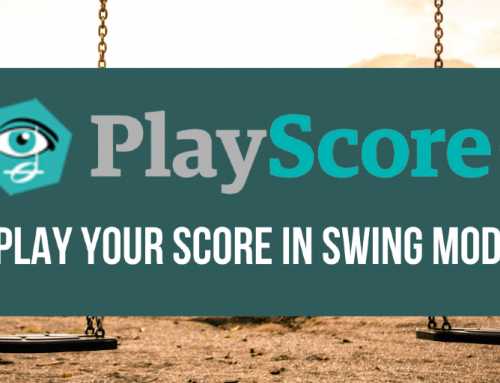 PlayScore Tutorial – Swing Rhythm Playback